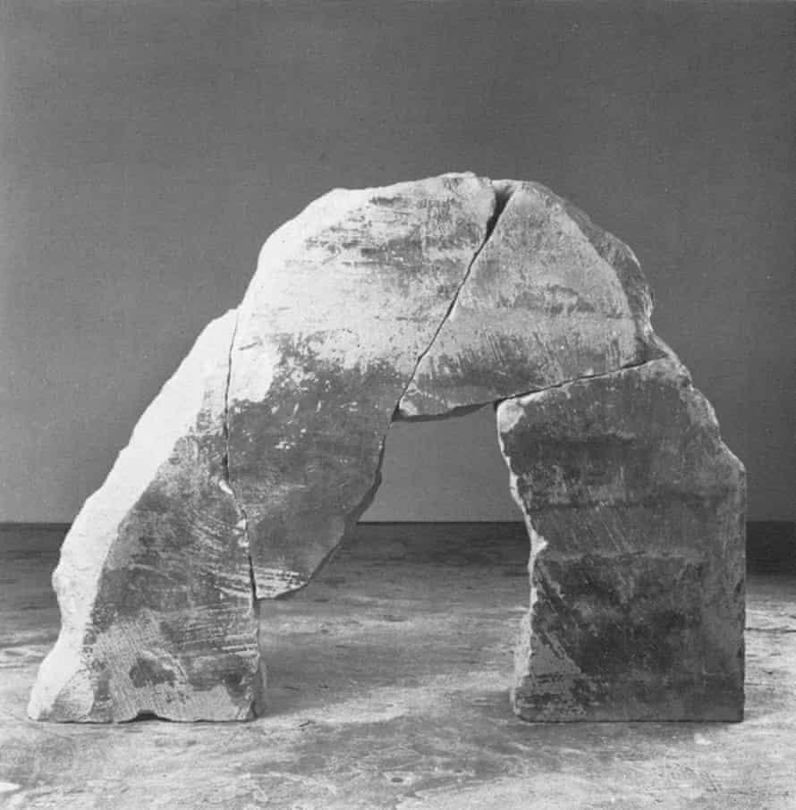 Partridge's 1983 sculpture Arch