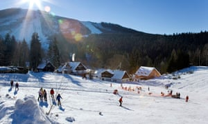 Ski Centre in Harrachov Giant Mountains