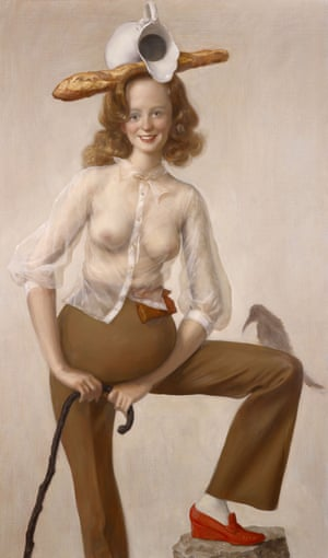 Red Shoe by John Currin.
