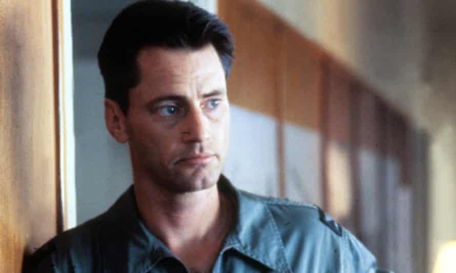 Sam Shepard as Chuck Yeager in the 1983 film version of The Right Stuff.
