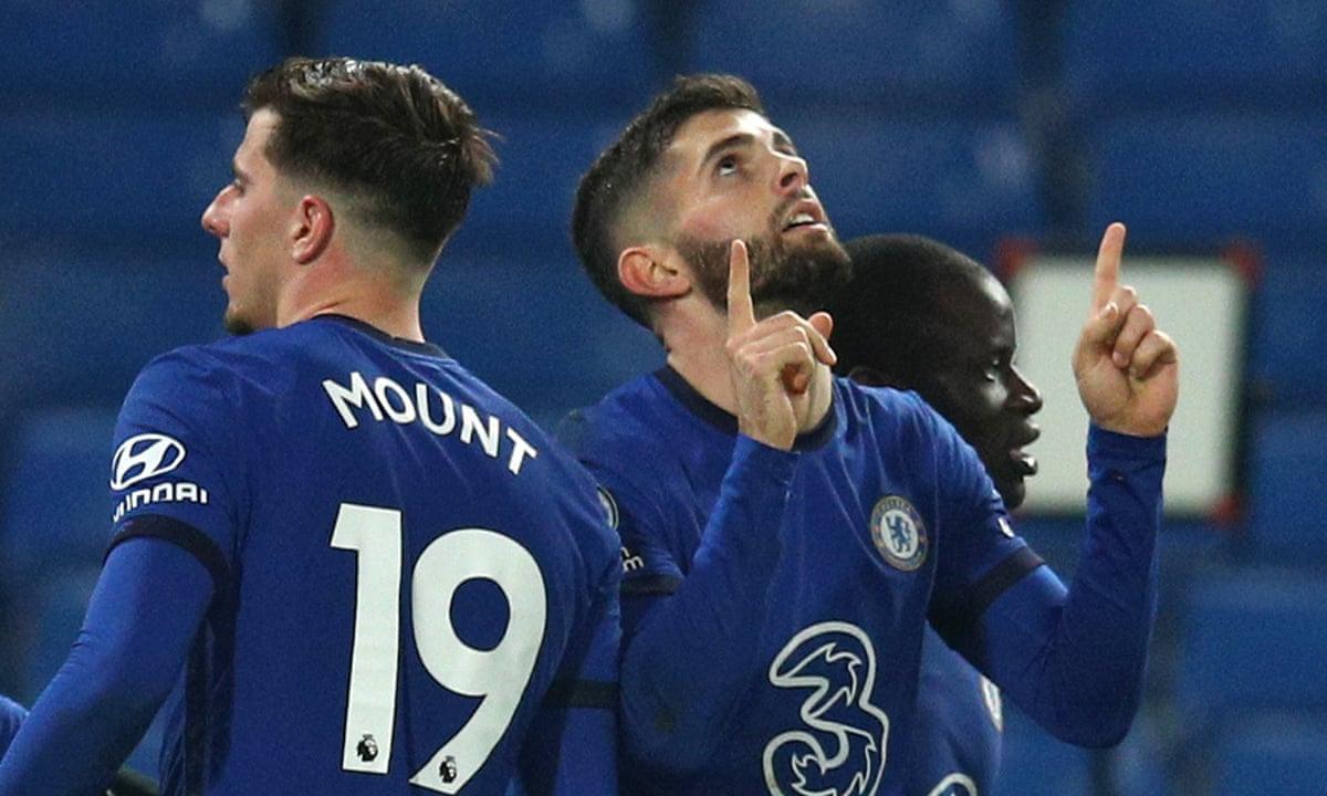 Chelsea 3 1 Leeds Premier League As It Happened Football The Guardian