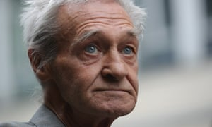 Paddy Hill, one of the Birmingham Six who was wrongly convicted of the Birmingham pub bombings.