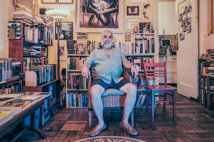 Michael Seidenberg at his 'secret bookstore', Brazenhead Books