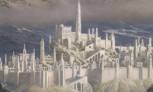 """The Fall Of Gondolin, """"New"""" JRR Tolkien Book, To Be Published In 2018 by Alison Flood for The Guardian"""