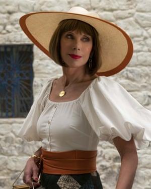 Baranski as Tanya in Mamma Mia! Here We Go Again.