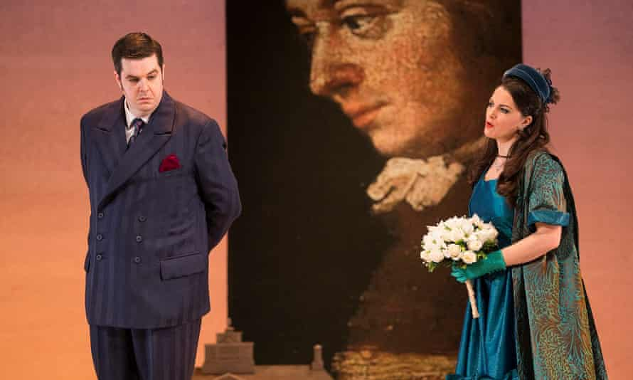 Ben McAteer as the Count and Máire Flavin as the Countess.