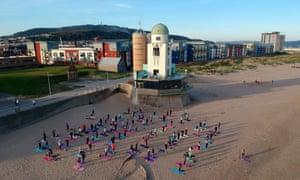 Womankind Yoga, Swansea Bay