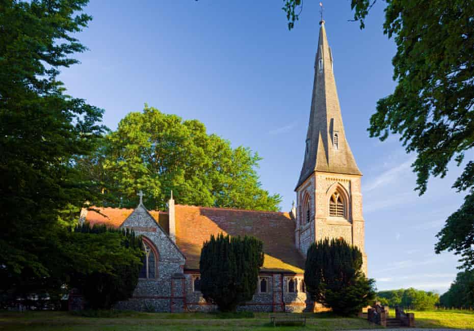 St Mary the Virgin Parish Church in Preston Candover, Hampshire