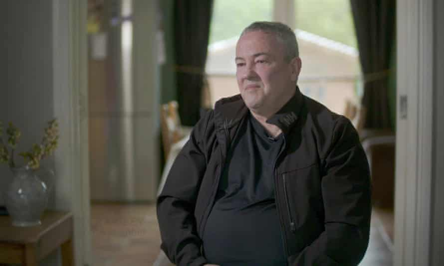 John Crawley in the BBC's Spotlight On The Troubles programme.