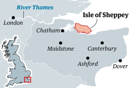 Sheppey map