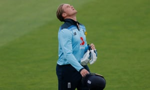 Jason Roy after his dismissal.