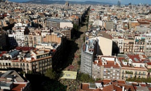 Rally on Catalonia's national day