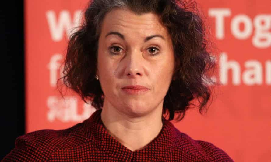The Labour MP Sarah Champion