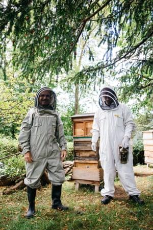 Members of the Bristol Beekeepers