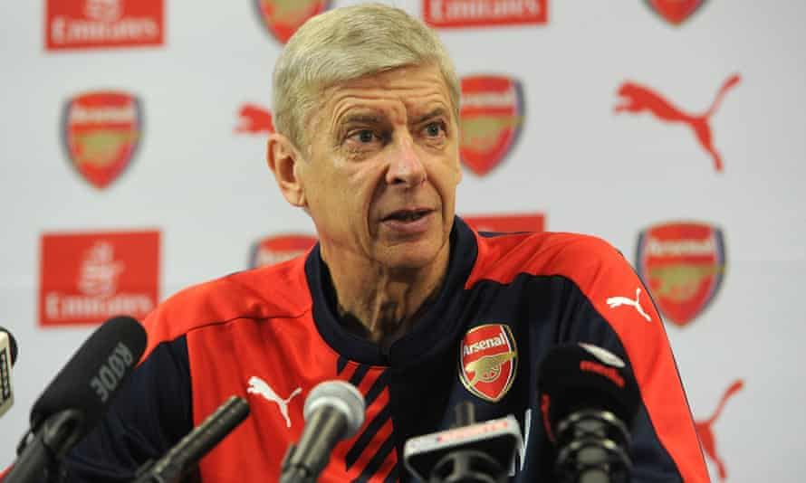 Arsene Wenger says of the shortage of strikers in Europe: 'You look at countries like Germany with Mario Götze up front – he's a creative midfielder. Spain won the World Cup with basically Cesc Fàbregas as centre-forward.'