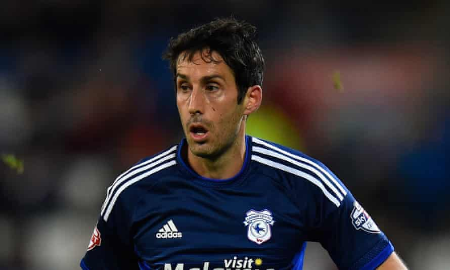 Peter Whittingham pictured playing for Cardiff in October 2015.