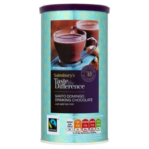 Sainsbury's Drinking Chocolate, Taste the Difference 300g