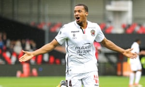 Alassane Pléa scored four goals for Nice at Guingamp this weekend.