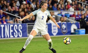 Lucy Bronze, who plays for Lyon and England, is regarded as the best right-back in the women's game.