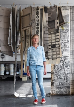 Wallpaper designer Deborah Bowness moved from London to a former ballroom near the seafront, and on to an industrial estate 'with a proper creative community'.