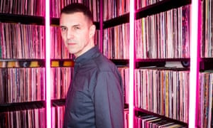 'What you see is what there is. I don't do anything else but this' ... Tim Westwood at his home in Fulham, London. Photograph: David Levene for the Guardian