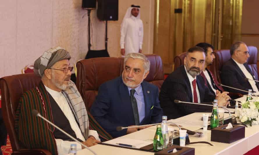 Peace envoy Abdullah Abdullah