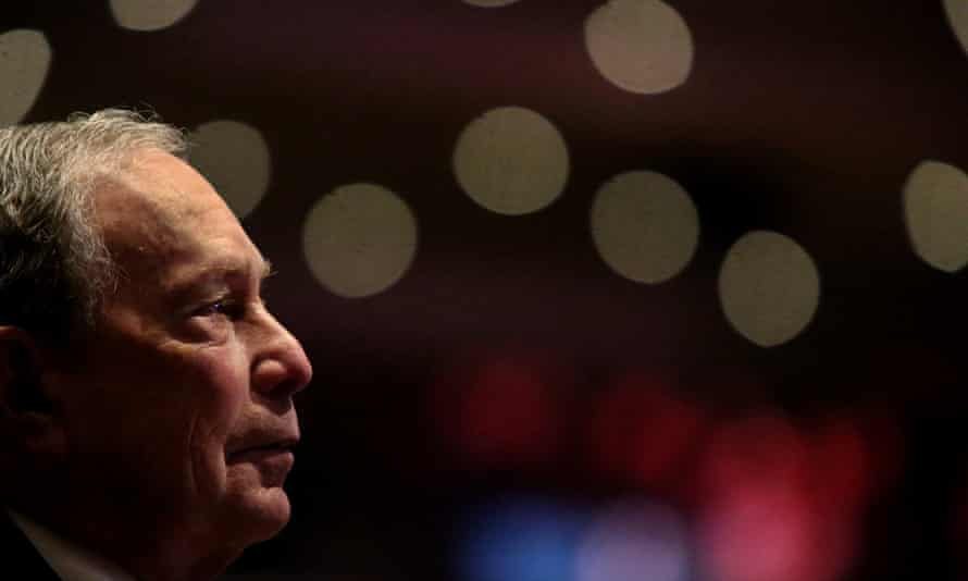 Michael Bloomberg Speaks At Predominantly Black Church In Brooklyn, New York<br>NEW YORK, NY - NOVEMBER 17: Michael Bloomberg prepares to speak at the Christian Cultural Center on November 17, 2019 in the Brooklyn borough of New York City. Reports indicate Bloomberg, the former New York mayor, is considering entering the crowded Democratic presidential primary race. (Photo by Yana Paskova/Getty Images)