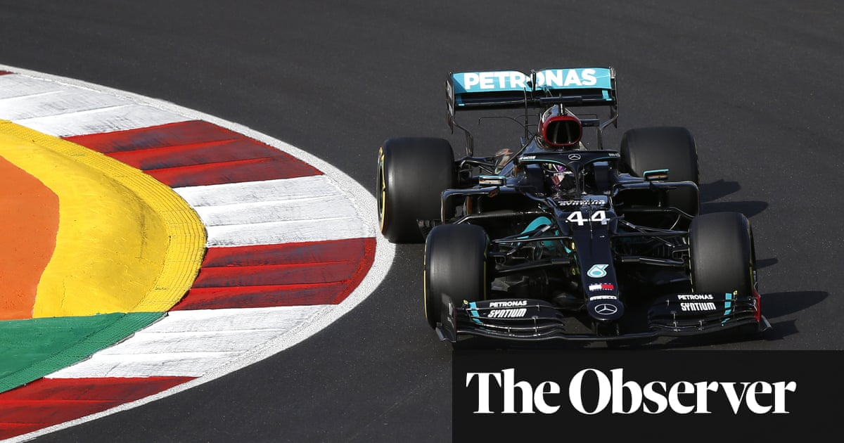 Lewis Hamilton takes Portuguese F1 GP pole to put Schumacher record in sight