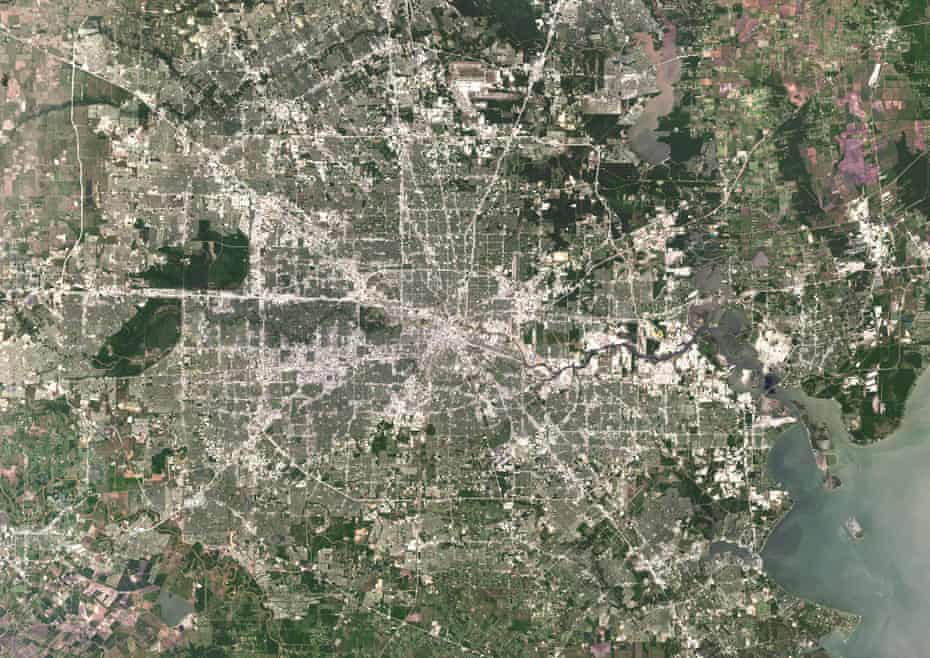 Houston is one of the fastest growing urban areas in the US.