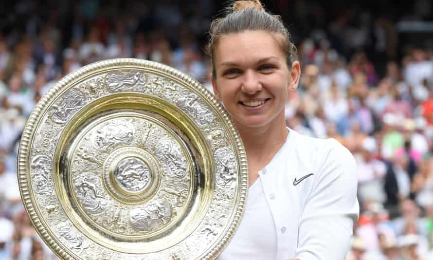 Simona Halep's final victory over Serena Williams took under an hour