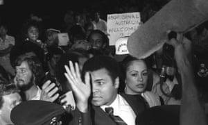Muhammad Ali in Australia