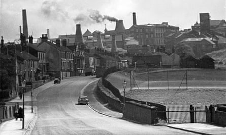 Stoke on Trent in the 1950s.