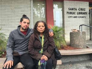 Joshua Waltrip, homeless in Santa Cruz with his mother: 'The hardest part is knowing that there is available housing, but not being accepted.'