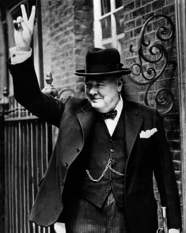 Sir Winston Churchill in 1943, after a trip to Washington.