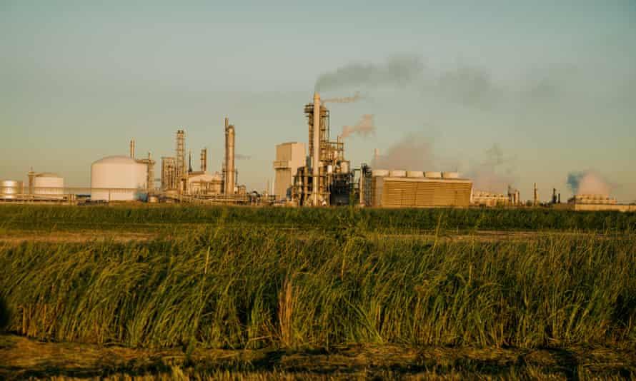A fertilizer plant in Donaldsonville, Louisiana.