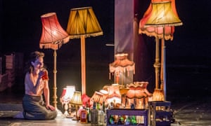 Kate Fleetwood in Absolute Hell by Rodney Ackland at the Lyttelton, National Theatre. Directed by Joe Hill-Gibbins.