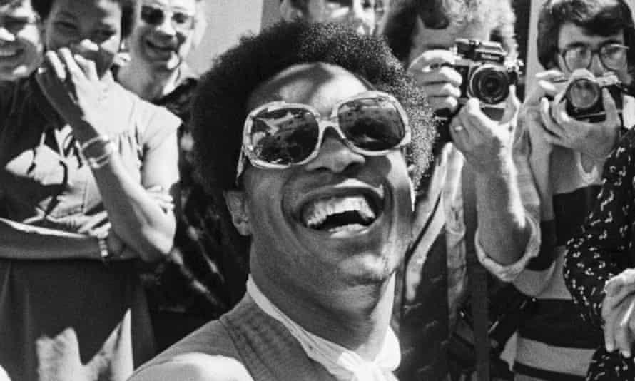 Stevie Wonder in 1978.