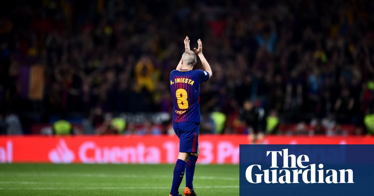 5500ed57d24 Andrés Iniesta begins glorious goodbye as an era draws to a close ...