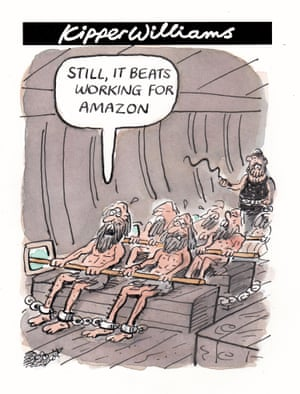 Kipper Williams on Amazon work practices