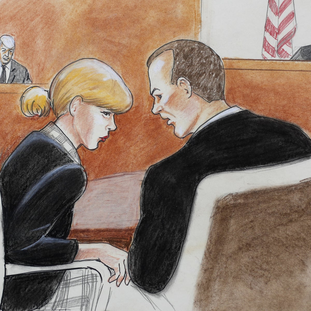 Taylor Swift Bodyguard Tells Court He Saw Dj Reach Under Singer S Skirt Taylor Swift The Guardian