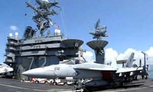 US deploys aircraft carrier and bombers after 'credible