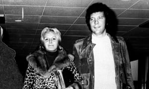 Melinda Rose Woodward pictured with Tom Jones in 1970.