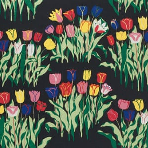 Josef Frank, Tulpaner (Tulips), 1943-45Attempts at architecture projects in Sweden and the US failed, and he focused on work for a Swedish design company, Svenskt Tenn