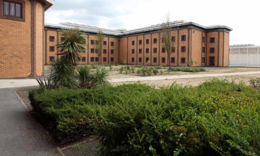 Belmarsh prison in south-east London has a high number of inmates jailed for terror offences.