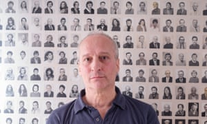 Philip Sharkey, who runs the Passport Photo Service from his shop in central London.