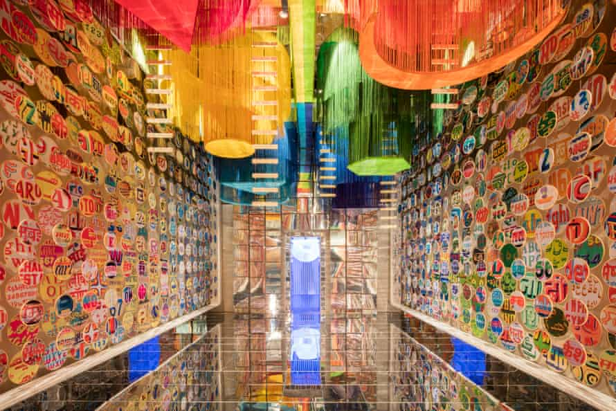 India's installation at the London Design Biennale