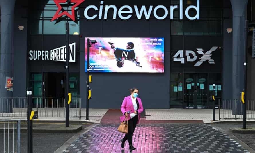 Cineworld is the UK's biggest cinema chain.