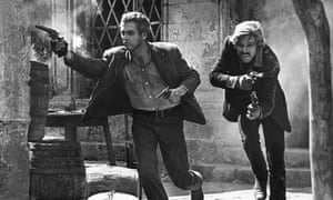 Paul Newman and Robert Redford in Butch Cassidy and the Sundance Kid, 1969, which brought an Oscar for the writer William Goldman and the beginnings of his legendary reputation.