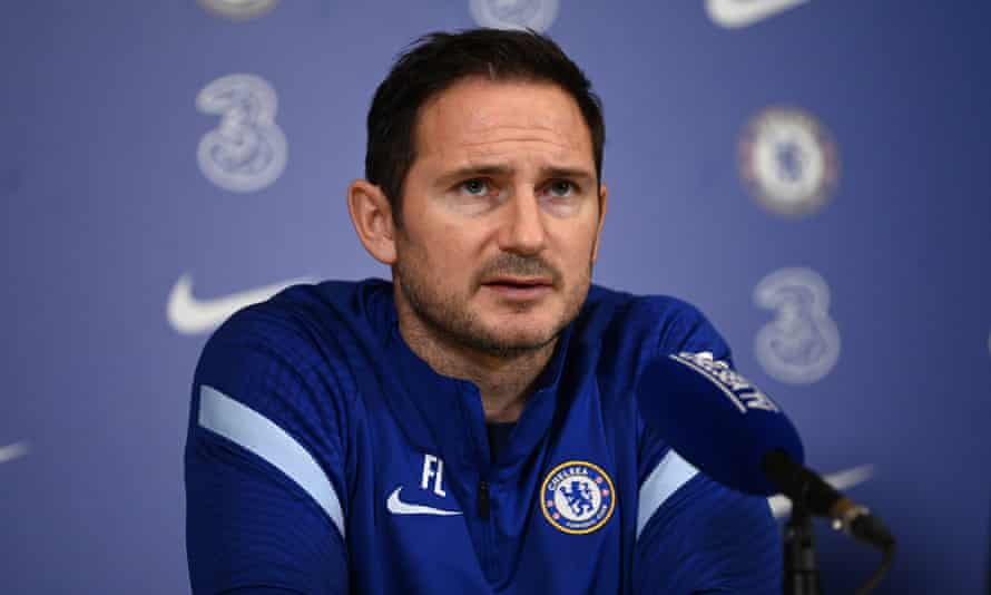 The Chelsea head coach Frank Lampard speaks to the media on Wednesday before a busy festive schedule of matches.