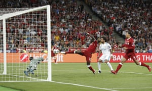 Sadio Mané poked home to make it 1-1 but Gareth Bale scored shortly afterward to restore Real Madrid's lead.